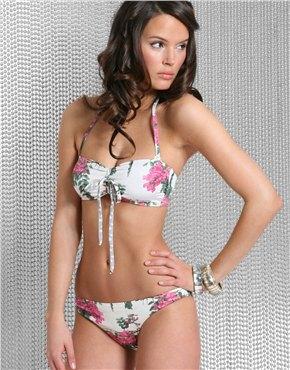 bikini flroes 44.50